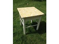 Retro small table, quirky, coffee table, occasional table