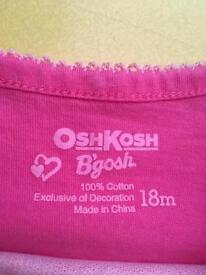 Toddlers Matching T-shirt & Skirt Set By Osh Kosh