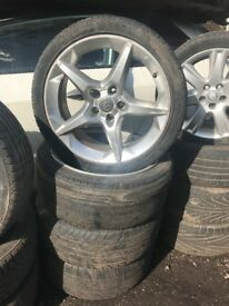 VAUXHALL ASTRA 18 INCH ALLOY WHEEL 225/40ZR18