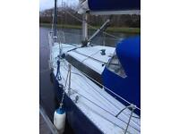 Big bolero sailing yacht 3/4 ton class 35ft