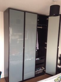 IKEA double bed and wardrobe for £ 300 ONO