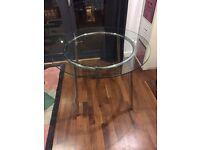 IKEA SALMI Glass kitchen Dining room table