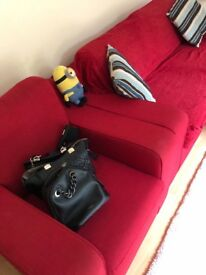 Red Sofa great condition