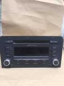 Audi A3 Concert Cd Player Radio 8PO 035 186