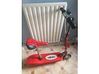 Zipper electric scooter