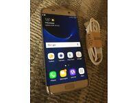 Samsung Galaxy S7 Edge Gold on EE