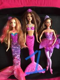 Various Barbie doll sets