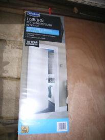 Lisburn ply veneer flush interior door 1981mm x 762mm x 35mm
