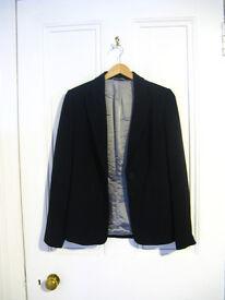 Women Black Jacket Size S/M