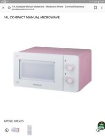 New 14 ltr microwave