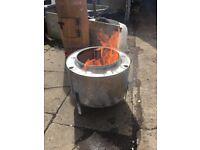 FIRE PIT. BBQ