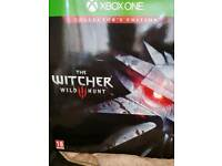 Witcher 3 Wild Hunt Collectors Edition - Xbox One (very rare)