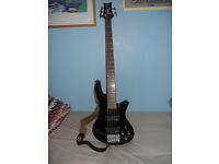 Bass Guitar Schecter Stiletto DLX 5 string