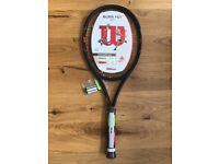 Wilson Burn FST 99S Tennis Racket. Grip 2. New...