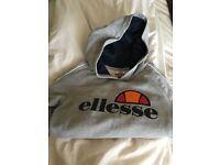 Genuine Ellesse Hoody Top size 4 grey coour with ellesse logo