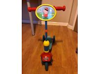 Peppa Pig Scooter - Very good Condition - Morvenside