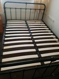 Kingsize metal bed frame. Will accept lower offers