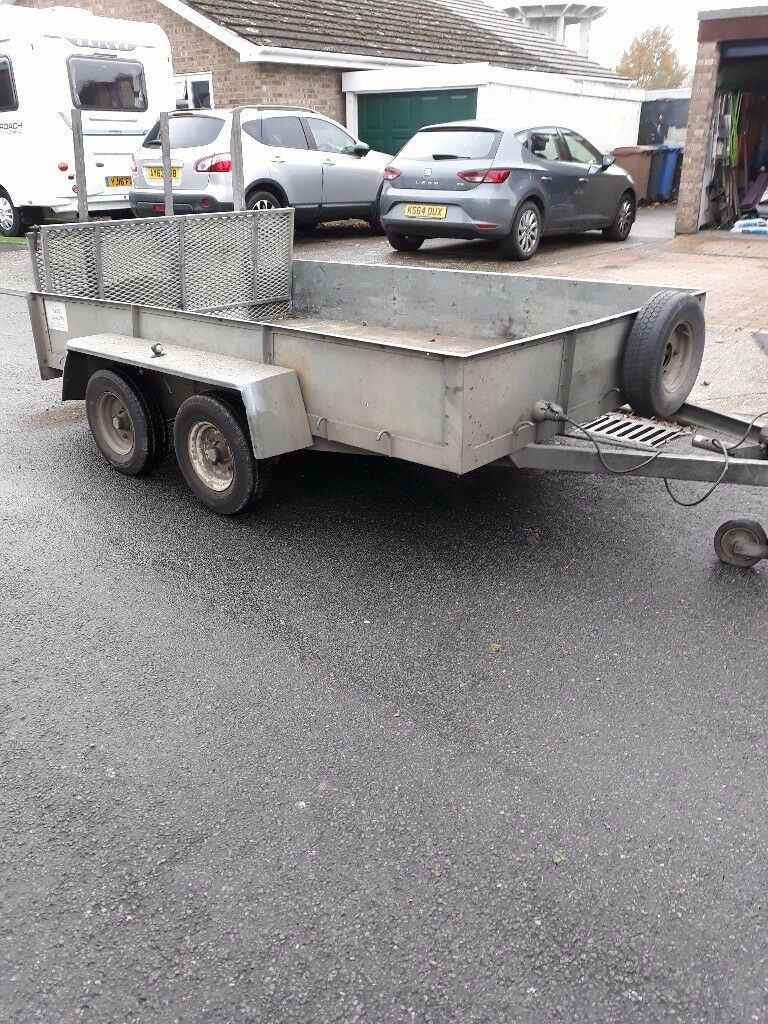 Used Twin Axle Trailer braked