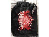 Bullet for my valentine messenger bag BNWT