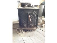 Woodburner stove, Mersea island, Colchester, Essex
