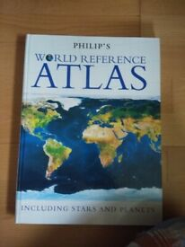 Philip's World Reference Atlas including stars and planets
