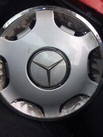 Mercedes four wheel trims