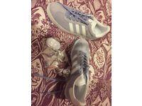 Women's brand new Adidas gazelle trainers size 8