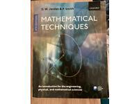Mathematical Techniques textbook