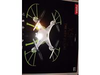 i lost lost syma drone (green and white) in leicester forest east please contact if found