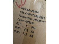 7ft Christmas tree BNIB