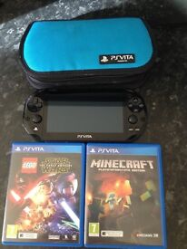 Ps vita wifi with 2 games