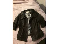 Save £40 on this brand new river Island leather jacket!