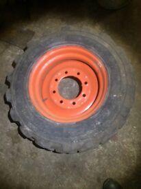 Bobcat spare wheel 10x16.5