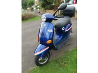 Vespa ET2 49cc moped with new MOT