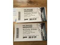 2 x Rolling Stones Tickets