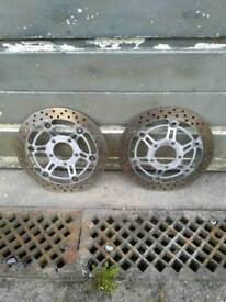 Suzuki bandit front brake discs