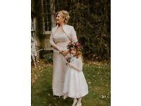Mother of the Bride/Groom John Graham 3 piece Silk Dress