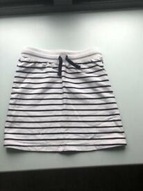cute striped mini skirt