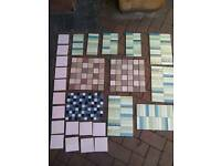 Unused selection of Border tiles