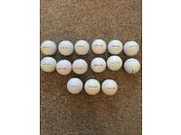 15 Pearl and Grade A Titleist Pro v1 golf balls