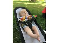 Baby Bjorn bouncer and toy bar