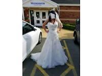 Olivia Grace size 12 wedding dress