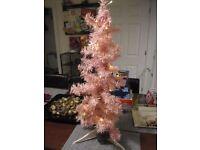 2ft pink xmas tree