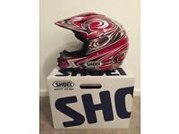 Shoei Crash Helmet Large Enduro Motorcycle