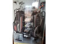 Black metal Golf Storage Organiser