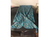 Mermaid Tail Blanket. Mothers Day