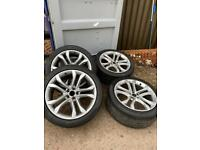 Audi s8 wheels with p-zero tyres (open to offers)