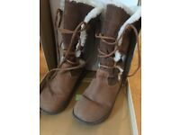 Fatface Boots, brown, Women's size 5 (38). Great condition, very warm. Original box inc. £30 ONO