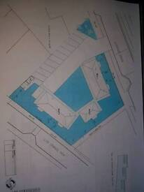1/3 of an acre of land for sale with planning for 10 flats