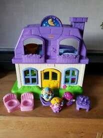 Fisher price little people house sounds